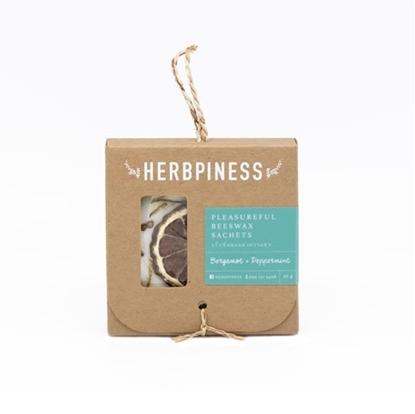Picture of บีแว๊กซ์หอมแห่งความสุข กลิ่น Bergamot & Peppermint