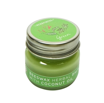 Picture of Beeswax Herbal  Balm, Green_ Ivy gound, Phaya Yo Essence