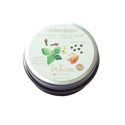 Picture of Beeswax Herbal  Balm, White: Original Essence