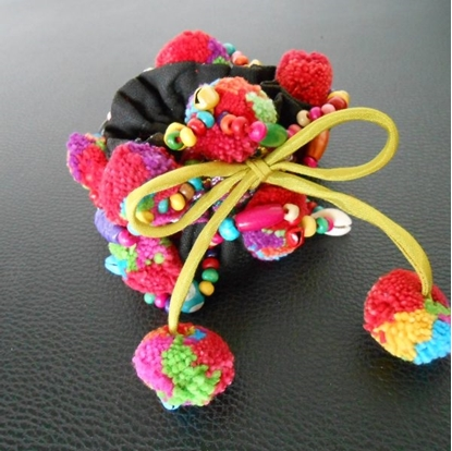 Picture of Ponytail Holder Colorful Hair Accessories
