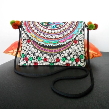 Picture of Embroidery Clutch Handbag