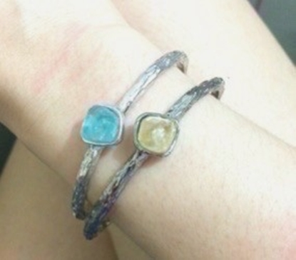 Picture of Handmade Simple B Bangle
