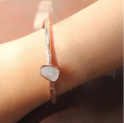 Picture of Handmade Simple A Bangle