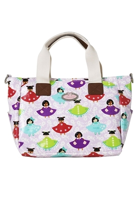 Picture of Handbag - Doll Girl Pattern