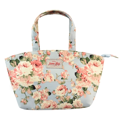 Picture of Tote / Shoulder bag - Pink Blossom Pattern