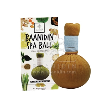 Picture of BAANIDIN Plai Herbal Compress Ball (60g)