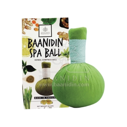 Picture of BAANIDIN Green Tea Herbal Compress Ball (60g)