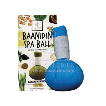 Picture of BAANIDIN Eucalyptus Herbal Compress Ball (60g)