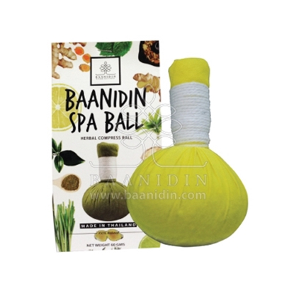 Picture of BAANIDIN Lemon Herbal Compress Ball (60g)