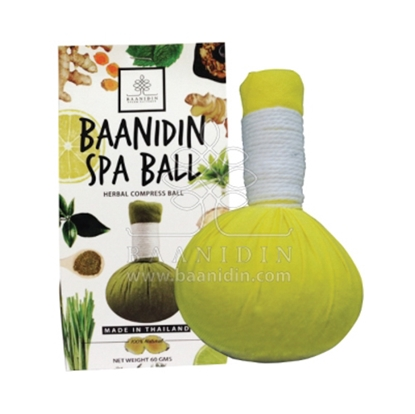 Picture of BAANIDIN Lemon Herbal Compress Ball (150g)