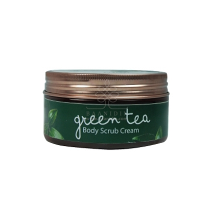 Picture of BAANIDIN BODY GREEN TEA SCRUB CREAM 200 G.