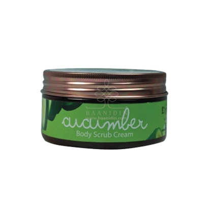 Picture of BAANIDIN BODY CUCUMBER SCRUB CREAM 200 G.