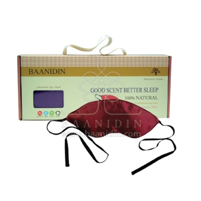 Picture of BAANIDIN Aromatic Herbal Silk Eye Pack