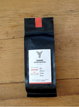 Picture of Yindee Roasted Organic Arabica - Whole Bean (Medium 250g)