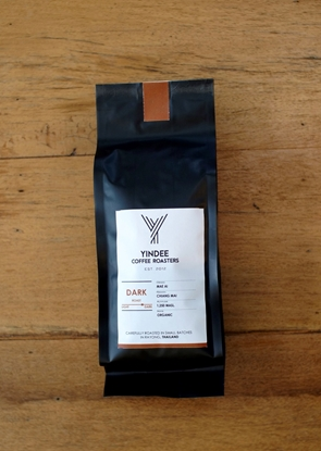 Picture of Yindee Roasted Organic Arabica - Whole Bean (Dark 250g)