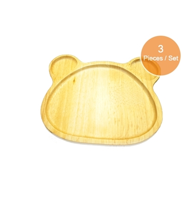 Picture of Big Bear Plate Set (3 Pieces)