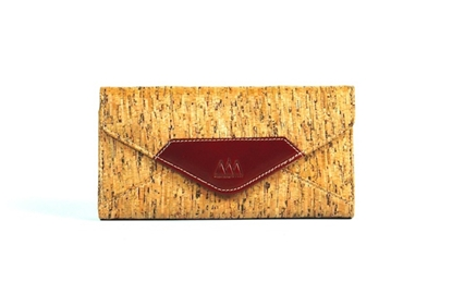 Picture of Stripe EC Cork Wallet