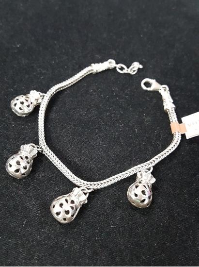Jatujakmall handmade silver viking knit bracelet with silver pouch handmade silver viking knit bracelet with silver pouch pendants mozeypictures Choice Image