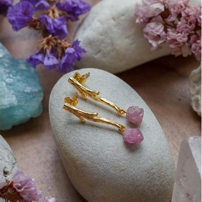 Picture of Handmade Heart Earrings