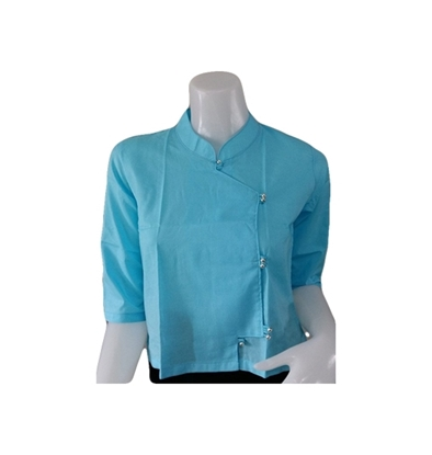 Picture of เสื้อผ้าป่าน สีฟ้า