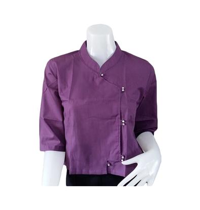 Picture of เสื้อผ้าป่าน สีม่วง