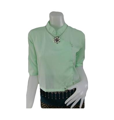 Picture of เสื้อผ้าป่าน สีเขียวอ่อน