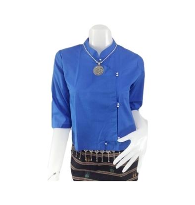 Picture of เสื้อผ้าป่าน สีน้ำเงิน