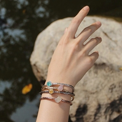 Picture of Handmade Simple C Bangle