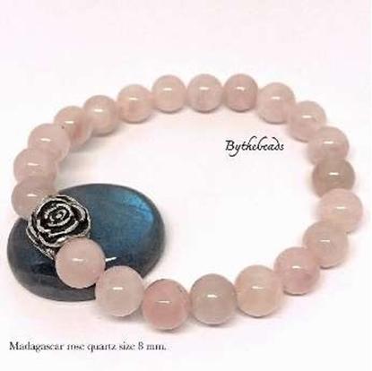 Picture of Madagascar Rose Quartz Bracelet