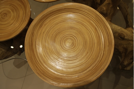 Picture of Bamboo tray - Size 35 cm.