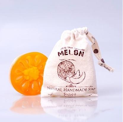 Picture of Phutawan Fruit Soap-Melon Scent
