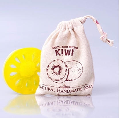 Picture of Phutawan Fruit Soap - kiwi Scent