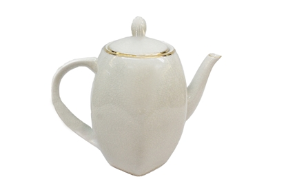 Picture of BLOOMING Plain Porcelain Teapot
