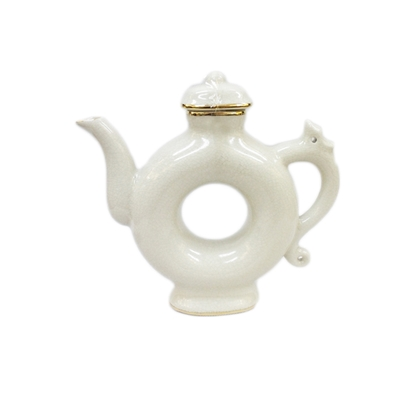 Picture of BLOOMING Donut Shape Porcelain Teapot