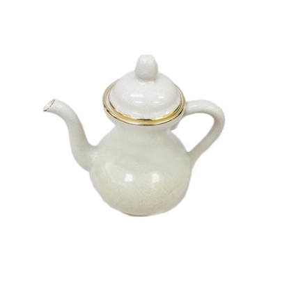 Picture of BLOOMING Porcelain narrow plain teapot