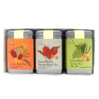 Picture of TEA TIME TODAY  Thai Herbal tea Gift Set (3 cans)