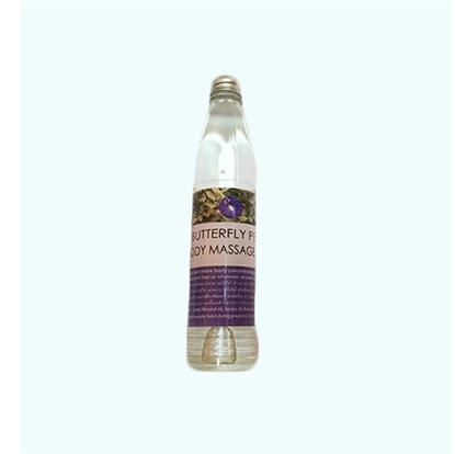 Picture of Body Massage Oil Butterfly Pea