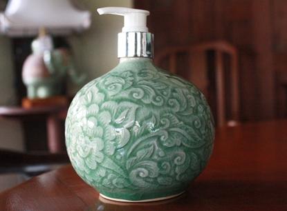 Picture of Jar Pump Celadon