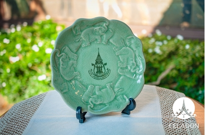 Picture of Elephant Plate Chiangmai 720th Anniversary Celebration Limited Edition