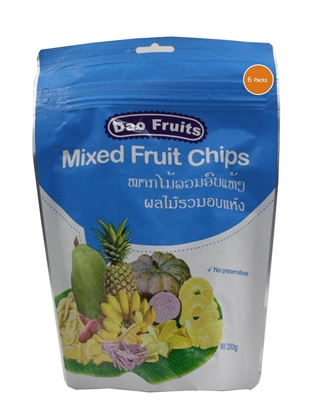 Picture of  Dao Mix Fruit Chips (6packs x 200g)