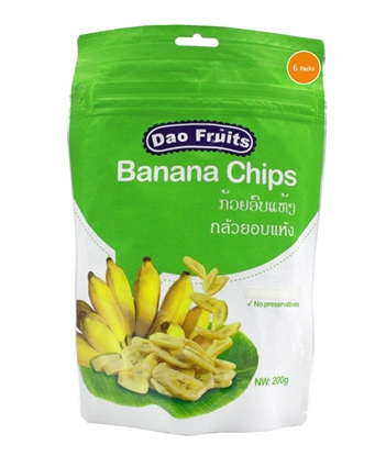 Picture of Dao Banana Chips (6packs x 200g)