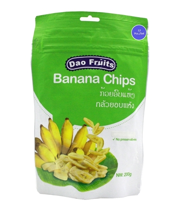 Picture of Dao Banana Chips (12packs x 200g)