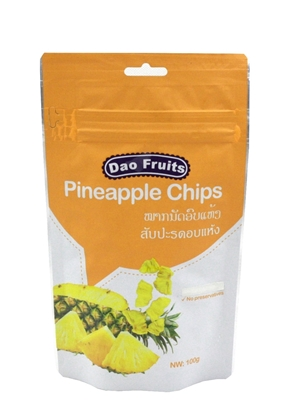 Picture of Dao Pineapple Chips (1pack x 100g)