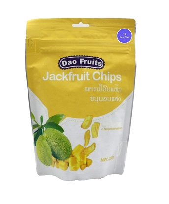 Picture of  Dao Jack Fruit Chips (12packs x 200g)