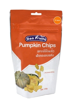 Picture of  Dao Pumpkin Chips  (6packs x 100g)