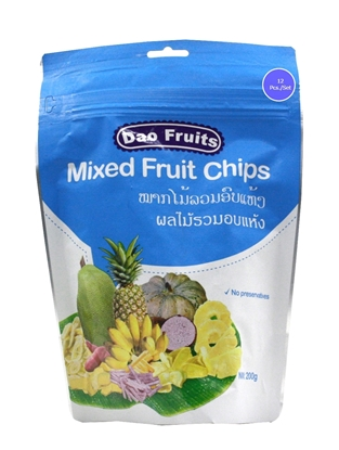 Picture of  Dao Mix Fruit Chips (12packs x 200g)