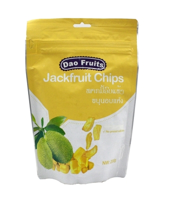 Picture of  Dao Jack Fruit Chips (1pack x 200g)