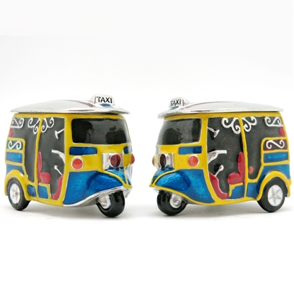 Picture of Loyfar TUK TUK hand-crafted pewter Box