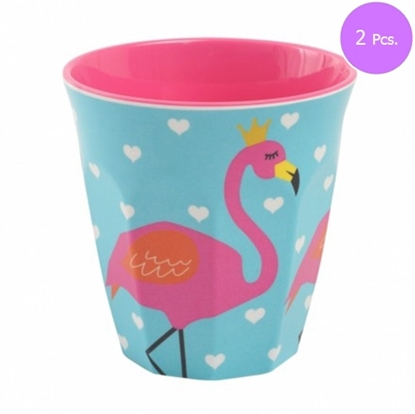 Picture of MEWLCOOL CUP ( M ) W. FLAMINGO ( TUR ) 2 Pcs.