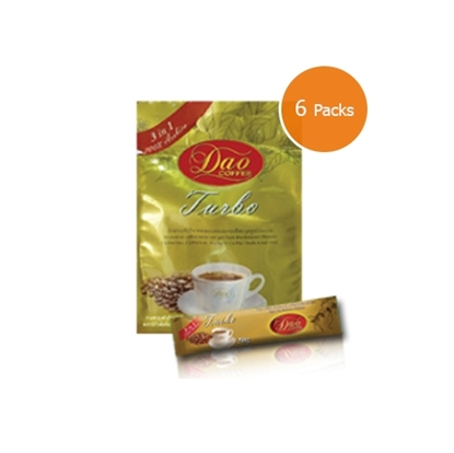 Picture of Dao Coffee 3 in 1 Turbo (6 packs x 100 g.)